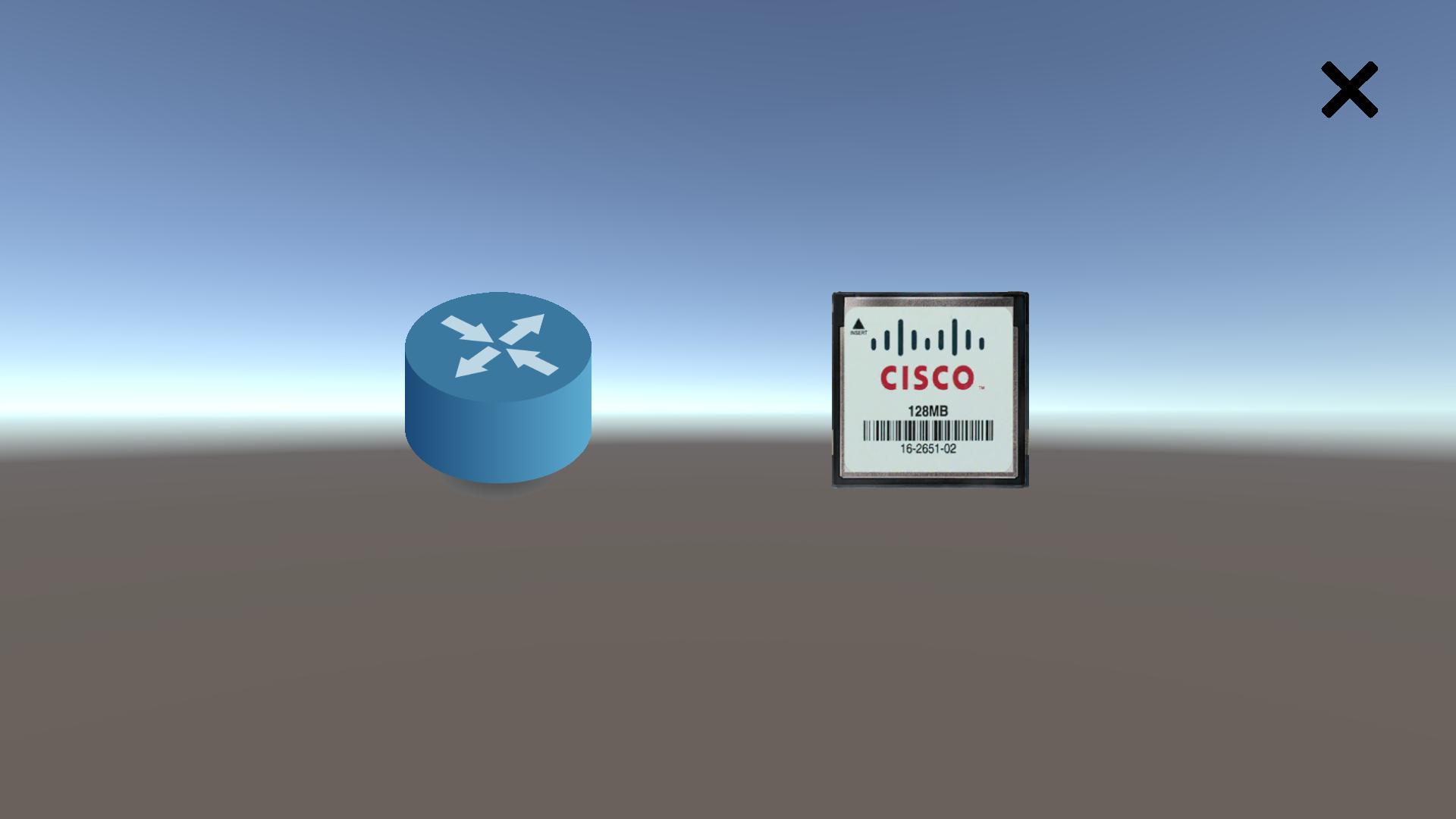 RouterAR aplicación AR con Unity y Vuforia
