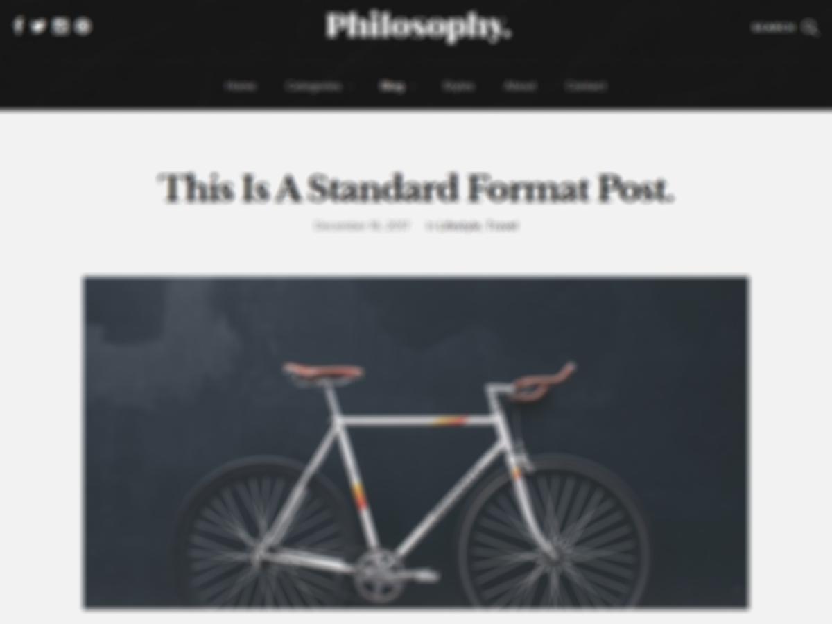 Philosophy – Tema para WordPres